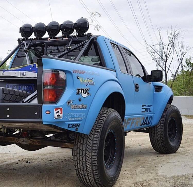 Ford Raptor 4 5 Flare 2 Quot Rise Adv Fiber Body Kit Bedside