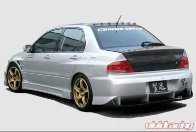 Chargespeed - Mitsubishi Lancer Chargespeed Type-2 Rear Bumper with Diffuser - CS424RB2