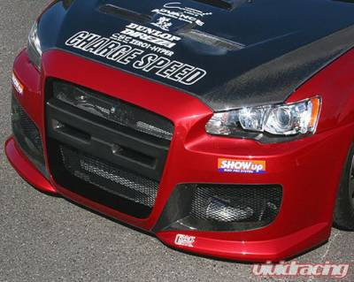 Chargespeed - Mitsubishi Lancer Chargespeed Type-1 Front Bumper - CS427FB1