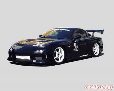 Chargespeed - Mazda RX-7 Chargespeed Full Body Kit - 4PC - CS710FK