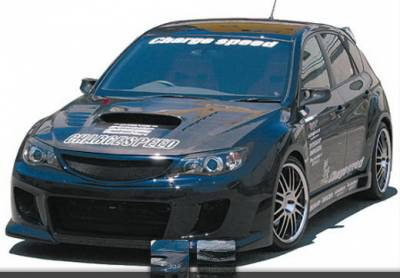 Chargespeed - Subaru WRX Chargespeed Type-2 Front Bumper without Washer Holes - CS979FB2