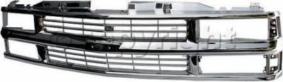 Custom - OEM Chrome Grille