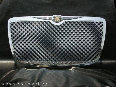 Custom - Front Chrome Mesh Grille