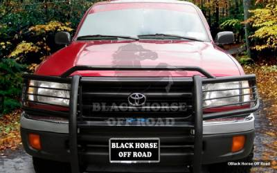 Black Horse - Toyota Tacoma Black Horse Modular Push Bar Guard