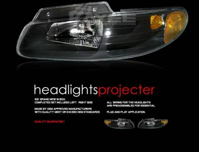 Custom - Black Diamond Headlights
