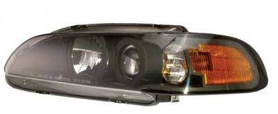 Custom - HID-Xenon Black Projector Headlights