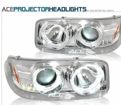 Custom - Chrome Halo Pro Headlights