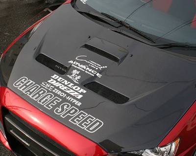 Chargespeed - Mitsubishi Lancer Chargespeed Vented Hood