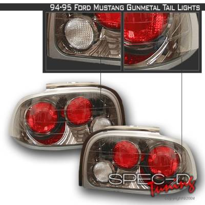 Custom Disco - Ford Mustang Custom Disco Clear Altezza Taillights - LT-MUS94G-YD