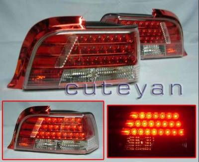 Custom - LED Tail Lights - RED