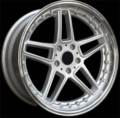 Custom - 18 inch BMW Star Polished 4 Wheel Set