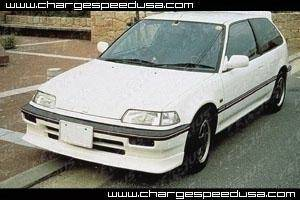 Chargespeed - Honda Civic Chargespeed Zenki Front Spoiler