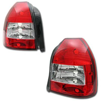 Custom - Red Clear Taillight