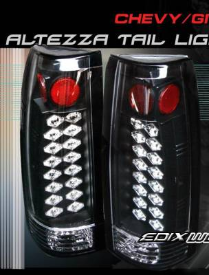 Custom - Black Altezza LED Taillights