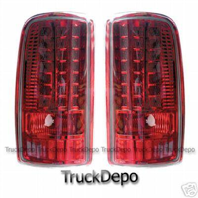 Custom - All Red LED Taillights