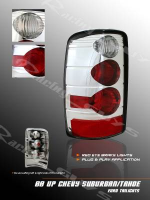 Custom - Euro Chrome  Taillights