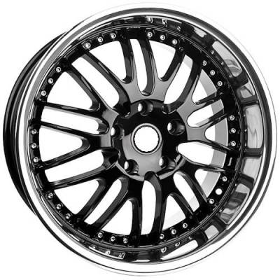 Euro Styles - 880 Black Wheels