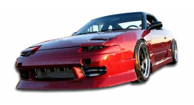 Extreme Dimensions 16 - Nissan 240SX HB Duraflex Type U Body Kit - 4 Piece - 103627