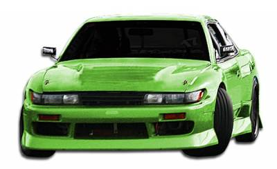 Duraflex - Nissan 240SX Duraflex B-Sport Conversion Kit - 4 Piece - 104319