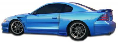 Extreme Dimensions 16 - Ford Mustang Duraflex GT500 Wide Body Door Caps - 2 Piece - 104834