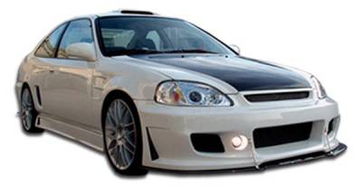 Duraflex - Honda Civic 2DR & 4DR Duraflex B-2 Body Kit - 4 Piece - 105612