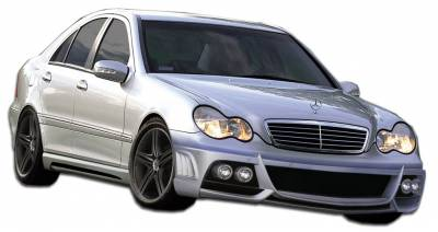 Mercedes-Benz C Class Duraflex W-1 Body Kit - 4 Piece - 107137