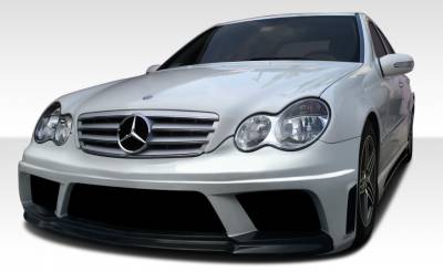 Extreme Dimensions 16 - Mercedes-Benz C Class Duraflex AMG V2 Look Body Kit - 4 Piece - 108297