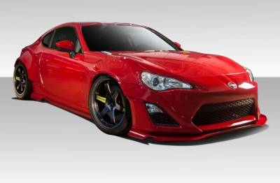 Extreme Dimensions 16 - Scion FRS Duraflex GT500 Wide Body Kit - 12 Piece - 109045