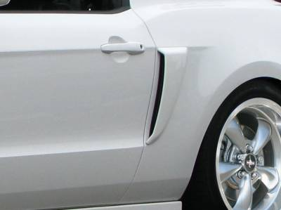 Extreme Dimensions 16 - Ford Mustang Duraflex Boss Look Side Scoops - 2 Piece - 109324