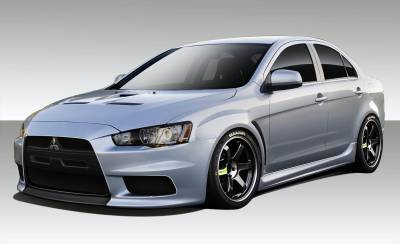 Mitsubishi Lancer Duraflex Evo X V3 Body Kit - 6 Piece - 109443