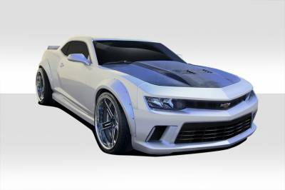 Chevrolet Camaro Duraflex GT Concept Wide Body Kit - 4 Piece - 109952