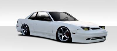Extreme Dimensions 16 - Nissan 240SX Duraflex Supercool Body Kit - 4 Piece - 109996