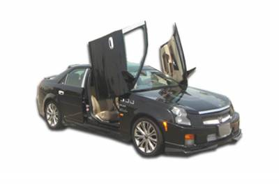 Extreme Dimensions 16 - Cadillac CTS Duraflex Platinum Body Kit - 4 Piece - 110072