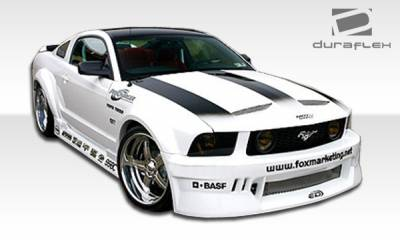 Extreme Dimensions 16 - Ford Mustang Duraflex Hot Wheels Wide Body Body Kit - 8 Piece - 110213