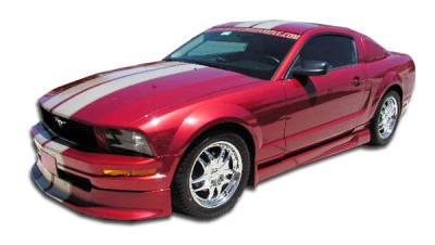 Extreme Dimensions 16 - Ford Mustang Duraflex Racer Body Kit - 4 Piece - 110215