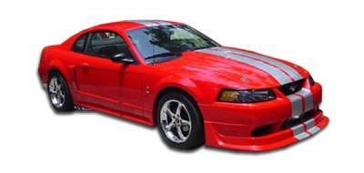 AM Custom - Ford Mustang Duraflex Cobra R Body Kit - 4 Piece - 110229