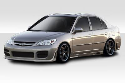 Honda Civic 4DR Duraflex R34 Body Kit - 4 Piece - 110337