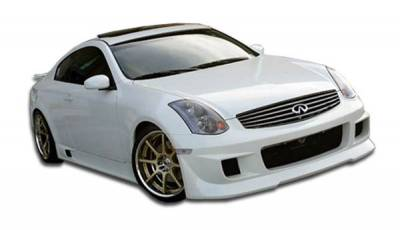 Extreme Dimensions 16 - Infiniti G35 2DR Duraflex Type G Body Kit - 4 Piece - 110575