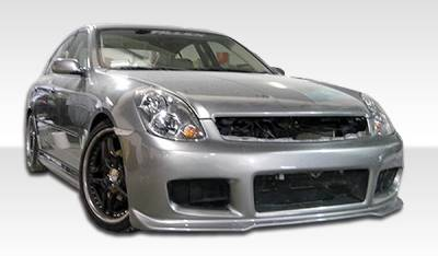 Extreme Dimensions 16 - Infiniti G35 4DR Duraflex GT Competition Body Kit - 4 Piece - 110578