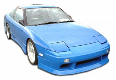 Extreme Dimensions 16 - Nissan 240SX Duraflex V-Speed Body Kit - 4 Piece - 110727