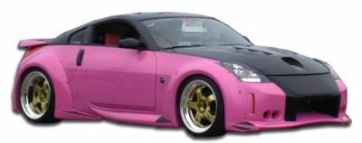 Nissan 350Z Duraflex Vader 3 Wide Body Body Kit - 8 Piece - 110899