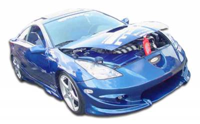Extreme Dimensions 16 - Toyota Celica Duraflex Vader Body Kit - 4 Piece - 111032