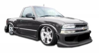 Extreme Dimensions 16 - Chevrolet S10 Duraflex Stepside Drifter Body Kit - 6 Piece - 111102