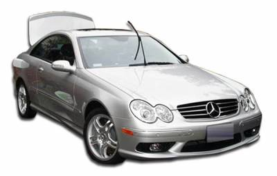 Extreme Dimensions 16 - Mercedes-Benz CLK Duraflex AMG Body Kit - 4 Piece - 111170
