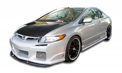 Custom Disco - Honda Civic 2DR Duraflex Raven Body Kit - 4 Piece - 111228