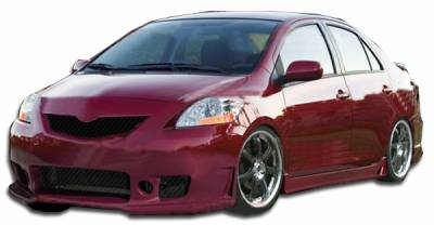 DAR Spoilers - Toyota Yaris Duraflex B-2 Body Kit - 4 Piece - 111244
