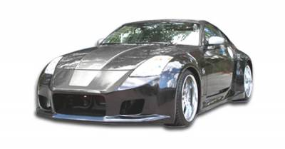 Spyder Auto - Nissan 350Z Duraflex B-2 Wide Body Body Kit - 8 Piece - 111278