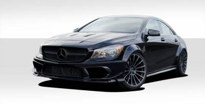Extreme Dimensions - Mercedes-Benz CLA Duraflex Black Series Look Wide Body Kit - 16 Piece - 112211