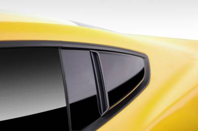 Extreme Dimensions - Ford Mustang Duraflex R-Spec Window Scoops - 2 Piece - 112458