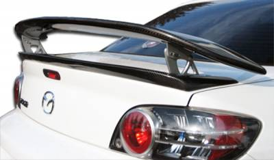 Mazda RX-8 Carbon Creations M-1 Speed Wing Trunk Lid Spoiler - 1 Piece - 102942